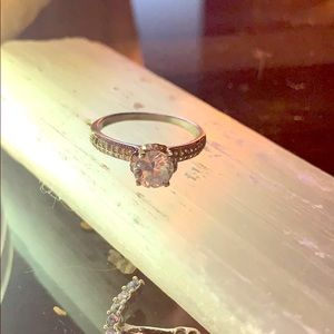 Jewelry - Shines so Bright CZ ring size 10 in 925 Stamped.